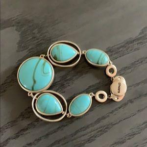 Chico's Reversible Turquoise / Blue Bracelet.